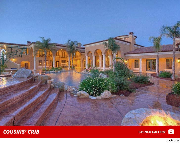 DeMarcus Cousins' Cool Crib -- For $ALE!