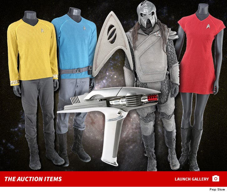 Star Trek Auction Items -- For $ALE!
