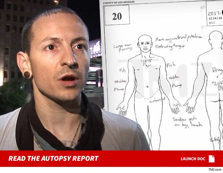 Chester Bennington Autopsy Report Released