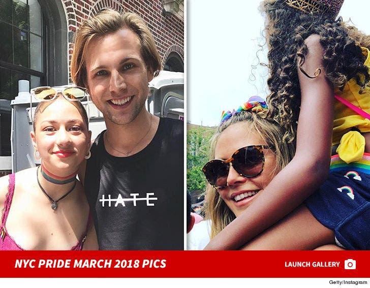 NYC Pride March 2018 Pics