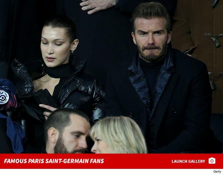 Famous Paris Saint-Germain Fans