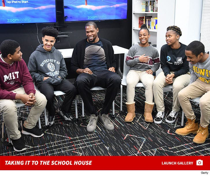 Kevin Durant Opens His Education and Leadership Center