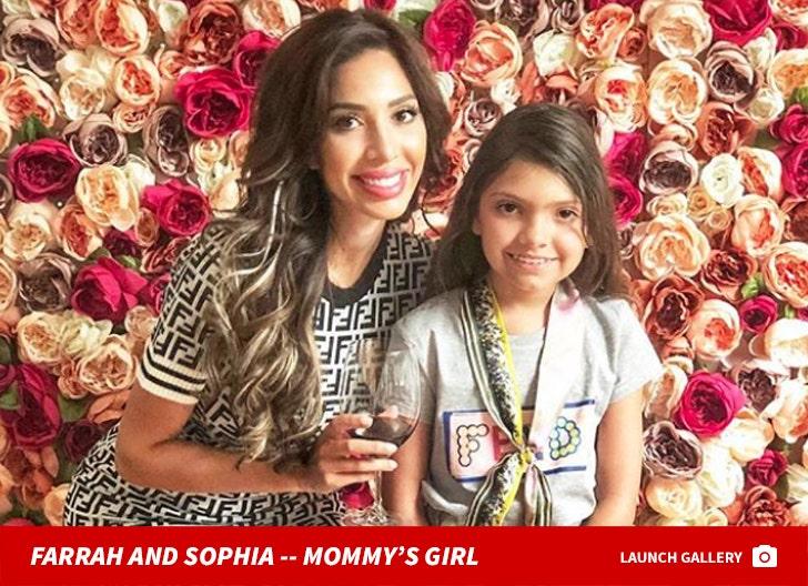 Farrah And Sophia Abraham -- Mommy's Girl