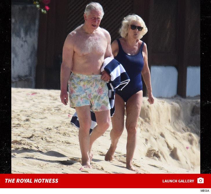 Prince Charles and Camilla -- The Royal Hotness in Barbados