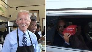 Joe Biden Dishes Up Soul Food in L.A.