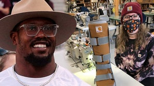 Von Miller Gets Awesome Custom Carhartt Boot After Ankle Injury