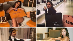 Babes In Shopping Bags -- Stars With Retail Baggage!