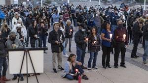 Halyna Hutchins Candlelight Vigil Held to Mourn Gun Death on 'Rust' Set