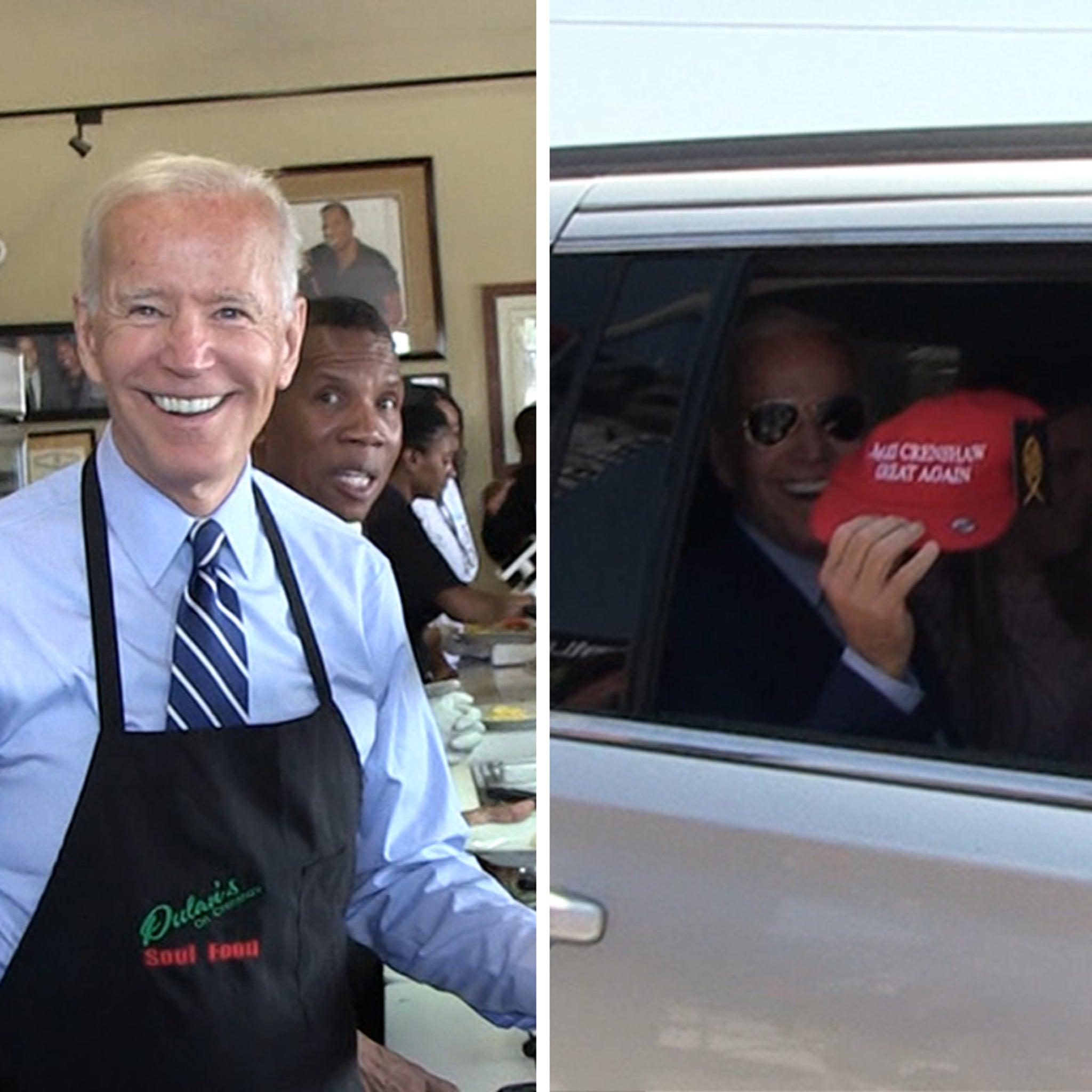 Image result for Joe Biden Dishes Up Soul Food in LA !