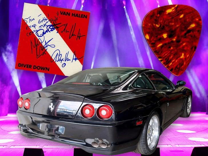 Eddie Van Halen's Rockin' Auction Items