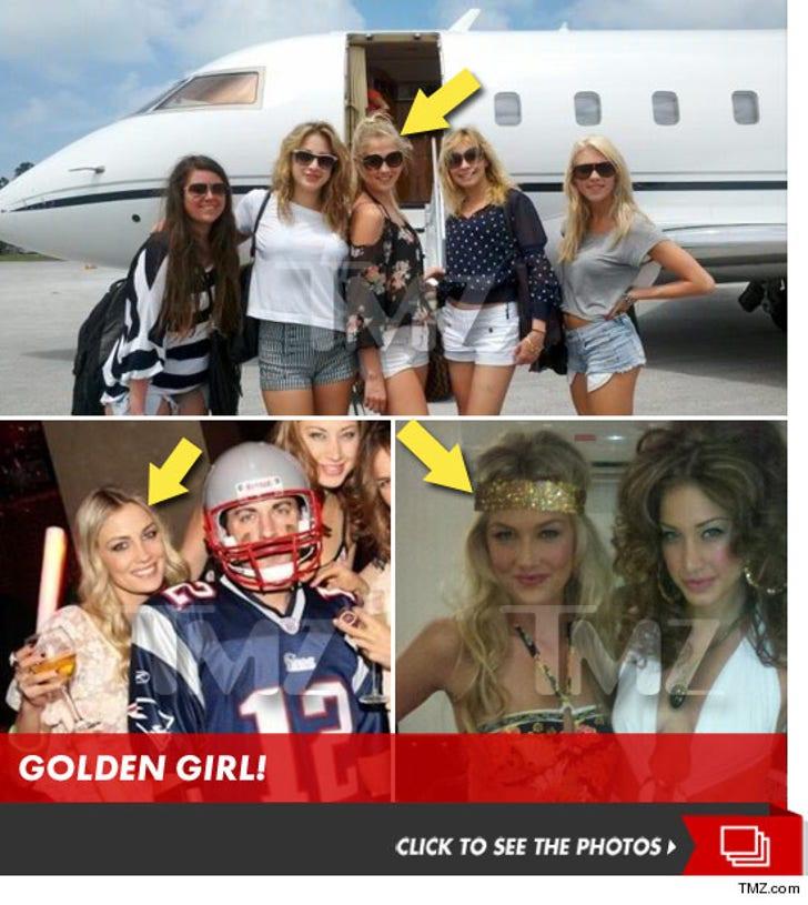Michael Phelp's Girlfriend Megan Rossee -- Private Jet-Setting, Vegas-Hopping Hobnobber