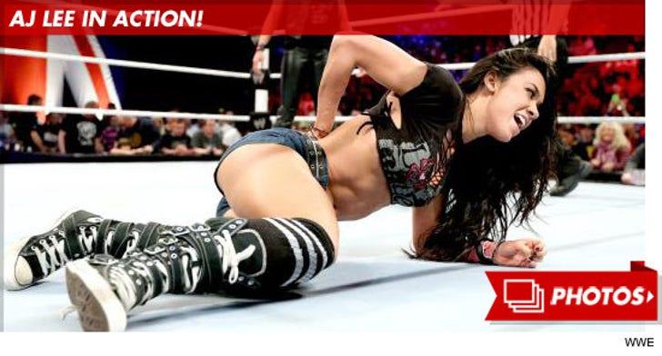 AJ Lee in Action!
