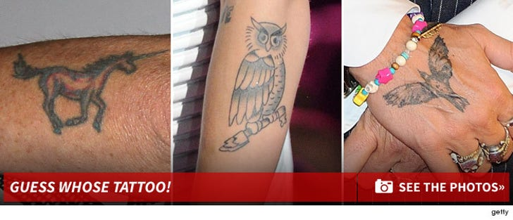 Celebrity Ink -- Guess the Tattoo!