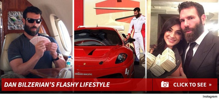 Dan Bilzerian's Flashy Lifestyle