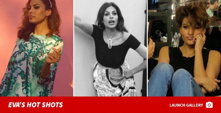 Eva Mendes' Hot Shots