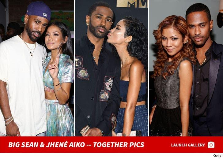Big Sean and Jhené Aiko -- Together Photos