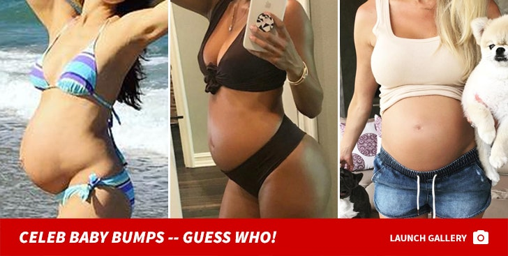 Celebrity Baby Bumps -- Guess Who!