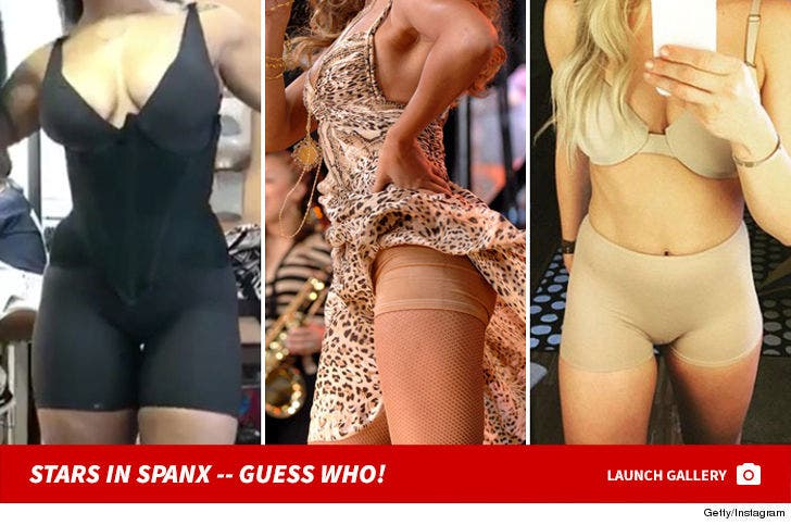 Celebs in Spanx -- Guess Who!