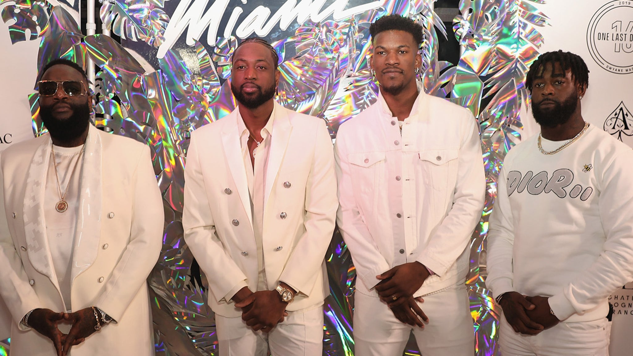 Dwyane Wade's Super Famous Friends Honor NBA Star At