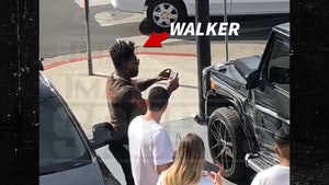 Delanie Walker's G-Wagon Wrecked In Scary L.A. Crash, NFL Star Uninjured