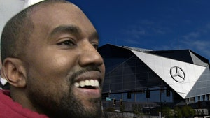 Kanye West Living in Mercedes-Benz Stadium to Finish 'DONDA'