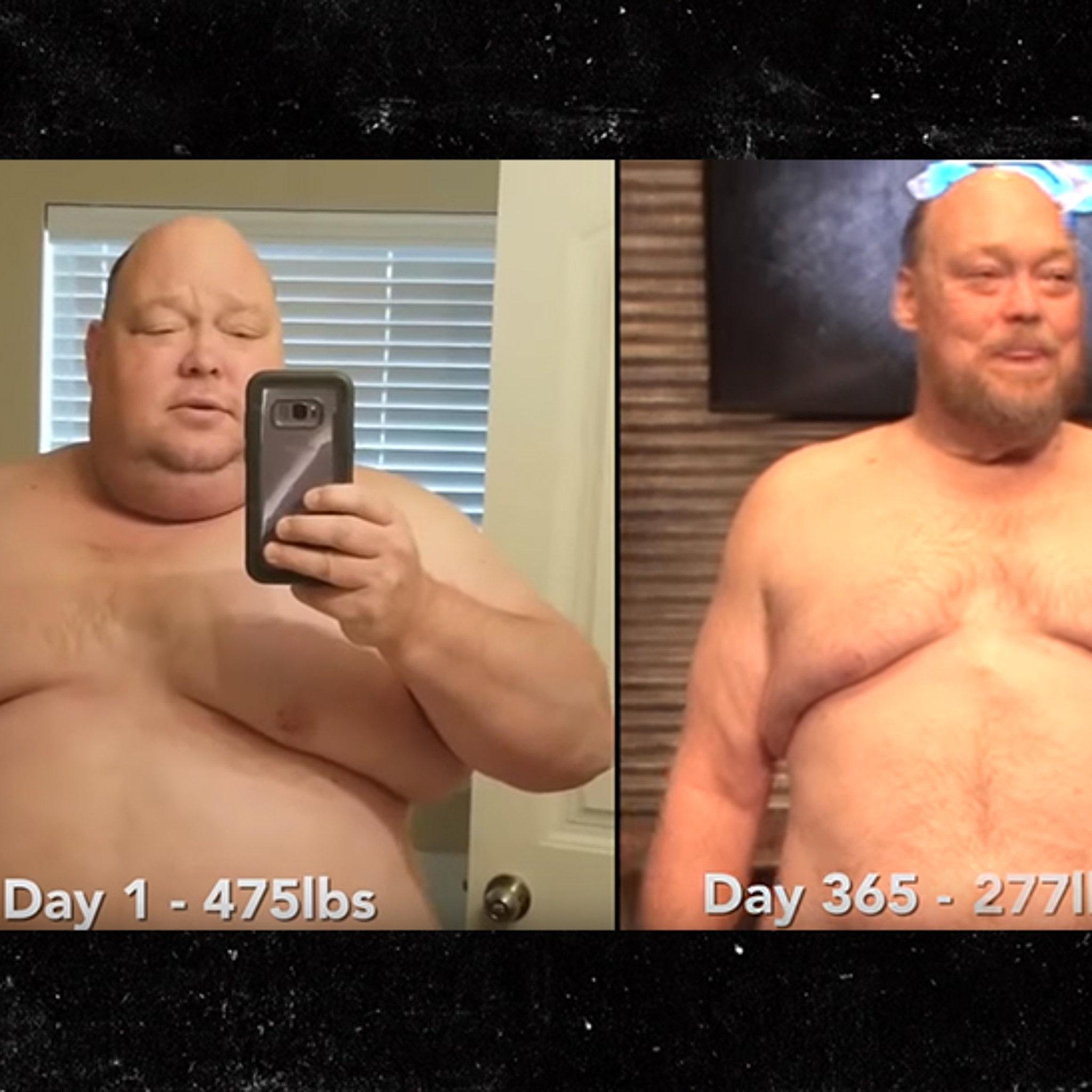 Diamond Dallas Page Helps 475 Pound Man Drop 200 Pounds