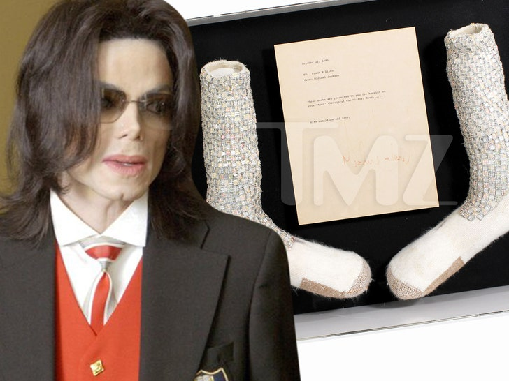 Michael Jackson's First Moonwalk Socks Expected to Fetch $1-2 Million