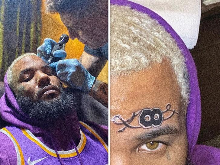 Celebrity Kobe Bryant Tribute Tattoos