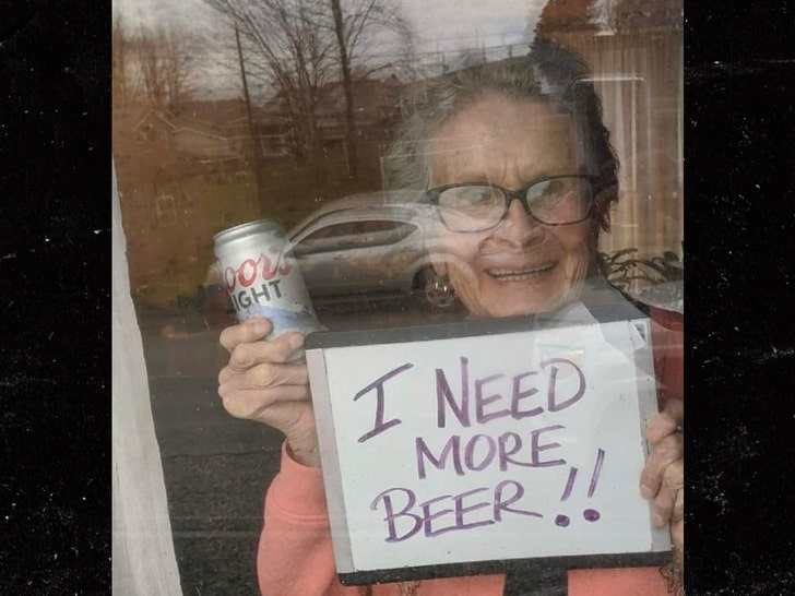 COORS LIGHT DELIVERS 150 BEERS ... After Senior's Viral Plea