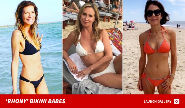 Bikini Babes of the 'RHONY'