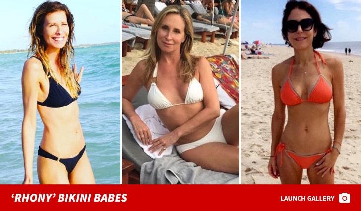 Bikini Babes of the 'RHONY'