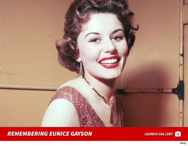 Remembering Eunice Gayson