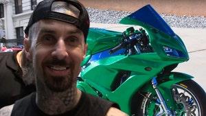 Travis Barker's Custom Motorcycle Going for $17k