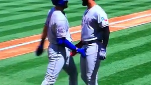 MLB's Joey Gallo & Nomar Mazara Celebrate Home Run With Double Crotch Grab