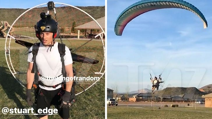 Youtube's Grant Thompson Shown Paramotoring Months Before Death