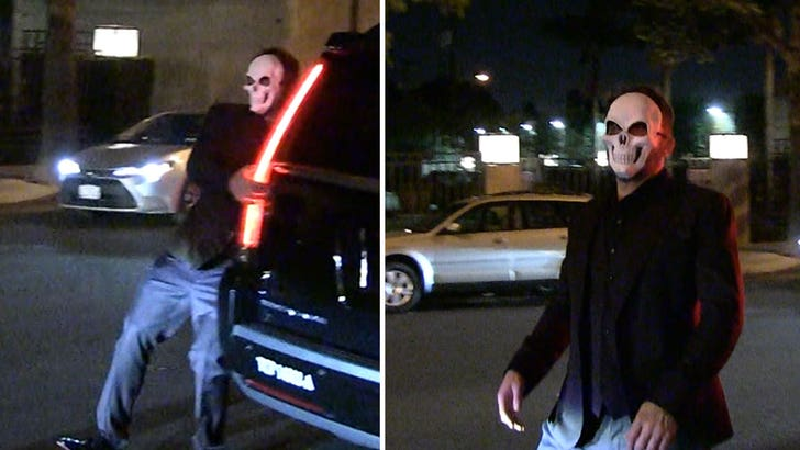 Ben Affleck Seen Stumbling After Halloween Party