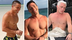 Colton Haynes' Shirtless Shots