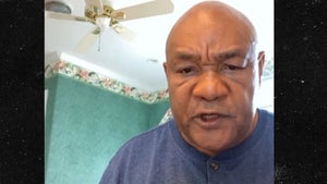 George Foreman Says He's Worried Mike Tyson & Roy Jones Jr. Will Get Hurt