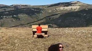 Kim Kardashian Joins Kanye in Wyoming For Sunday Service