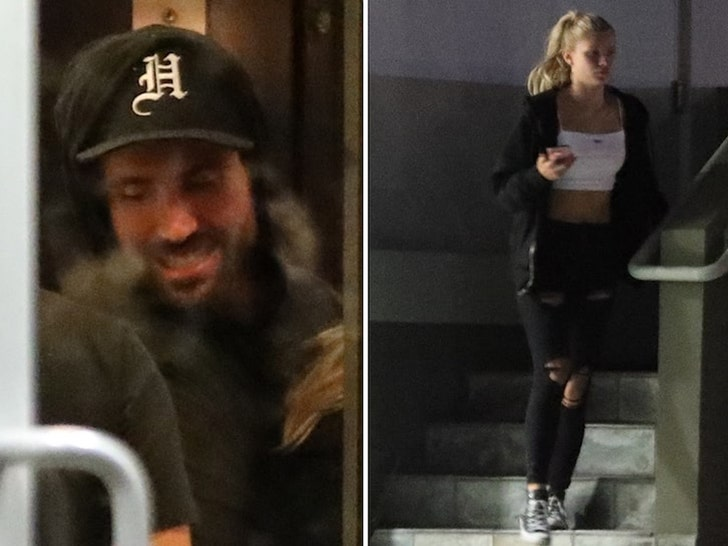 Brody Jenner and Josie Canseco Partying into the Morning