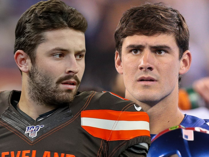 Baker Mayfield Stunned By Giants' Daniel Jones Pick: