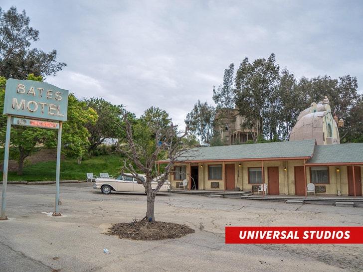 bates motel Universal Studios