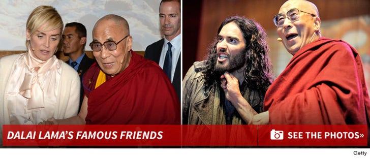 Dalai Lama's Famous Friends
