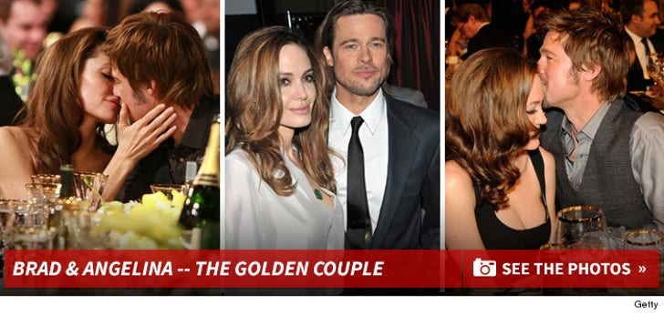 Brad & Angelina -- The Cute Couple