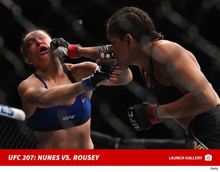 UFC 207: Amanda Nunes vs. Ronda Rousey