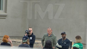 Kanye West Tells Landscaping Team, Get it Done!!!