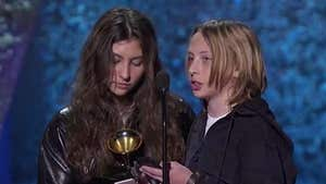 Chris Cornell's Kids Accept Posthumous Grammy on Dad's Behalf