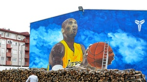 Massive Kobe Bryant Mural Finished In Europe, Biggest On Continent!