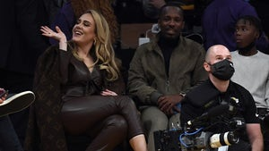 Adele Gets Cozy With Rich Paul Courtside At Lakers Opener