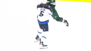 NHL's Marcus Foligno Kicks Off Epic On-Ice Fight With Superman Punch